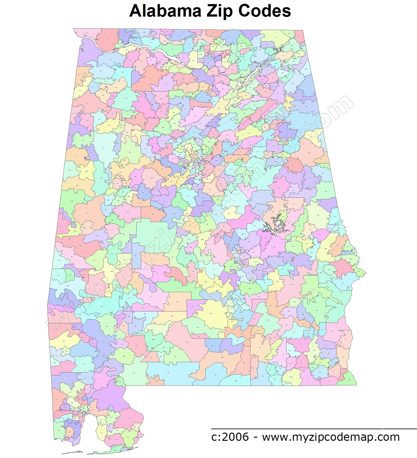 Zip Code Huntsville al 35803 Alabama al Zip Code Map